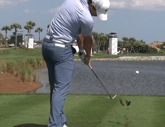 Golf Swing Tip: Hit the Golf Ball First, Don't Hit Behind the Ball