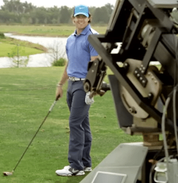 Golf Humor:  Rory vs. the Robot