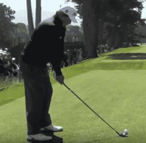 Jason Dufner addressing ball golf foot position golf foot placement