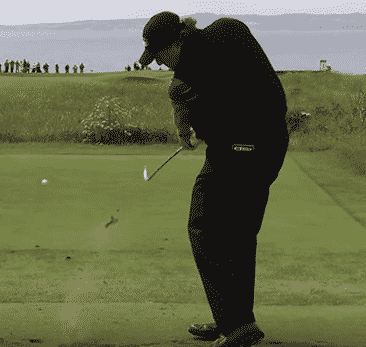 Golf Swing Drill: Stop Topping the Golf Ball by Hitting the Sunken Tee