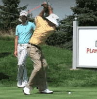 Golf Swing Tip: Fix Your Over the Top Swing by Copying Bubba Watson's Elastic Left (Right) Shoulder