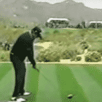 Angel Cabrera starter move to initiate backswing