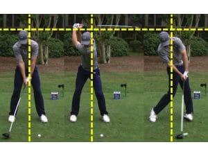 Jordan Spieth head still during golf swing driver