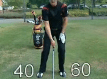 Golf Swing Lesson:  Learn to Hit the Knockdown or Punch Shot