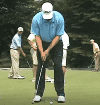Golf Putting Tip:  Cure the Putting Yips With The One-Two Stroke Thought