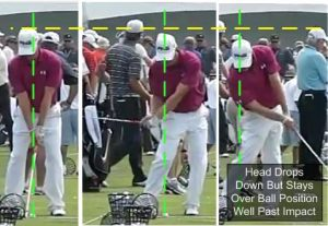 Hunter Mahan Hit Down on the Ball