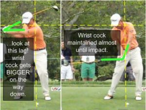 webb simpson downswing lag wrist cock swing sequence