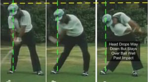 Lee Trevino Chase the Ball Down the Line Clubhead Release