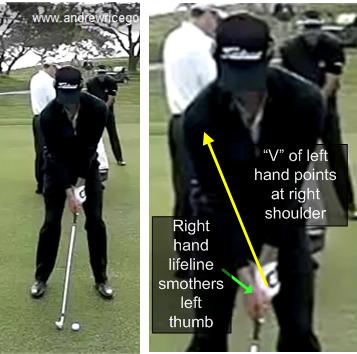Golf Swing Tip: Use a Proper Right Hand Grip to Improve Your Swing Like Adam Scott