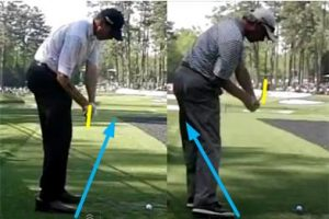 matt kuchar fred couples golf swing plane downswing